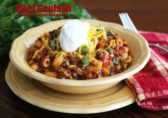 Melissa's Southern Style Kitchen: Beef Goulash