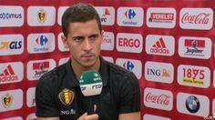 """Eden Hazard heeft als aanvoerder van de Rode Duivels al verlies en winst gekend. """"Ik speelde twee keer een goeie match. Tot nu ben ik tevreden van mijn EK."""""""
