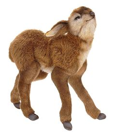 Take a look at the Baby Deer Plush Toy on #zulily today!