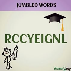 #GreenoBag #jumbled #words guess the word.......