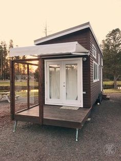 Good and Tiny with retractable deck and awning