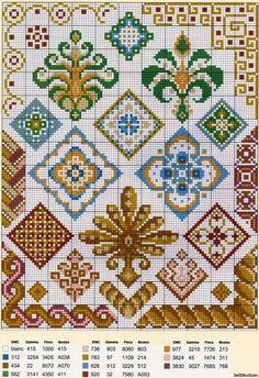 Λαογραφικό παραδόσεις σε σταυροβελονιά - λαϊκά κεντήματα - σταυρός σχέδια βελονιών - Κατάλογος Αρχείο - HOBBY