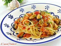 Pasta con le cozze alla tarantina - Ricetta Il Cuore in Pentola