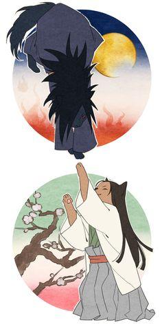 Naruto - Hashirama Senju x Madara Uchiha - HashiMada Naruto And Sasuke, Hinata, Naruto Shippuden, Boruto, Madara And Hashirama, Gekkan Shoujo Nozaki Kun, Deadman Wonderland, Cartoon Games, Sakura Haruno