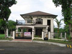 Brand New House for Sale Catalunan Pequeno - Davao Property Finder Two Story House Design, 2 Storey House Design, Simple House Design, Bungalow House Design, House Outside Design, House Front Design, Architecture Magazines, Amazing Architecture, Modern Brick House