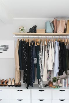 My Bedroom and Open Wardrobe   Made From Scratch