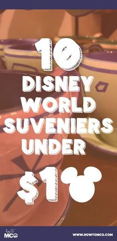 Your gonna want to WRITE THESE DOWN!!! Get some unique WDW gift ideas with Disney Souvenirs Under 10 Dollars!
