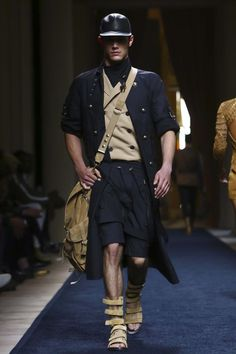 Awesome 50+ Best Balmain Menswear Spring Summer https://fashiotopia.com/2017/04/26/50-best-balmain-menswear-spring-summer/ Clearly, Balmain isn't likely to do it. But this was not just Balmain in khaki. Rousteing, nevertheless, isn't entirely delighted. Yet mostly, Roustei...