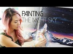Painting the Night Sky | ANNEORSHINE - YouTube