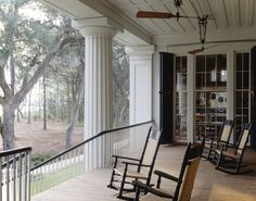 Porches, most people would agree, are the quintessential expression of Southern style. Strickland has a great deal to say about porches, like just how deep they need to be to encourage the perfect mood of relaxed conviviality or how they should be sited in relation to the setting to accommodate the mostserene solitude.