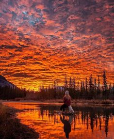 Banff National Park, National Parks, Evening Sky, Beautiful Places In The World, Beautiful Sunset, Belle Photo, Bushcraft, Great Photos, Interesting Photos