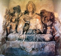 Afghanistan, Hadda Site - 1st cent. or later Buddha | Flickr - Photo Sharing!