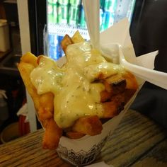 Pommes Frites - Frites in all its glory - East village New York, NY, United States