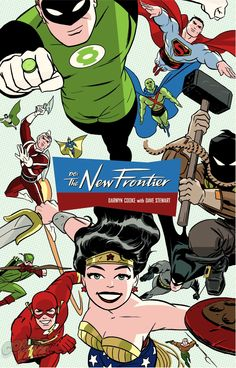 Hardcover artwork for The New Frontier by Darwyn Cooke