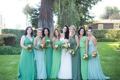 This hot fashion trend has made its way over into the wedding scene. Remember when everyone was wearing ombre clothing, then Beyonce started the mismatched nail trend and it even made an appearance in beauty with ombre and balayaged hair? This trend doesn't stop there — it's a hot wedding trend to have your bridesmaids […]
