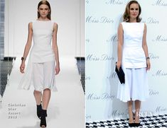 Natalie Portman In Christian Dior - Miss Dior Exhibition Opening - Red Carpet Fashion Awards