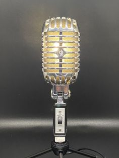 Smart Buys! Shure 55SH microphone lamp starting from $200.00 See more. 🤓 #Elvis #vintage #Light #MicrophoneLamp #mic #MicrophoneLight #Microphone #Lamp #retro #Music Shure 55, Smart Buy, Lamps For Sale, Vintage Microphone, Led Lamp, Bulb, Retro Lamp, Etsy, Music