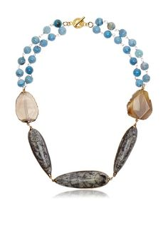 Janna Conner Moroccan Orthoceras Fossil Necklace