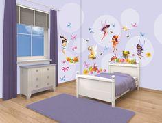 Stickere Disney - Fairies Room Decor Kit (77 buc)