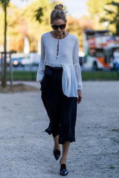 Olivia Palermo's £26 Zara shirt is a chic way to tackle the