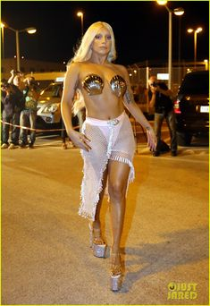 Lady Gaga Channels Greek Goddess Aphrodite in Athens