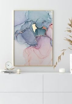 Let yourself be inspired by our watercolor posters. Discover them now! Gold Poster, Marble Painting, Rose Gold Painting, Pink Marble, Color Marble, Marble Wall, Gold Watercolor, Alcohol Ink Art, Art Graphique