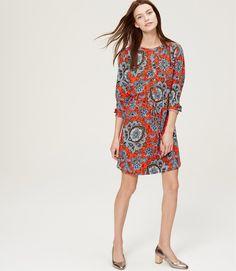 Queen Paisley Shirtdress | LOFT