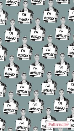I am hungry. Justin read my mind.