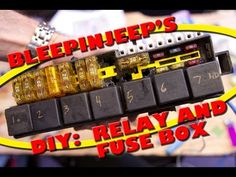 making a custom automotive fuse power relay block the fab