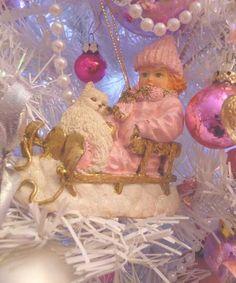 """DECO - """"MY SHABBY CHIC… - LE CHAT DU BONHEUR - LES DECORATIONS DE ... <3 Shabby Chic Cottage Pink Christmas"""