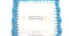 Hekel Idees: Tutoriaal: Hoe om 'n randjie om te hekel. Chrochet, Knit Crochet, Crochet Hats, Knitting Patterns Free, Free Pattern, Crochet Patterns, Afrikaans, Useful Life Hacks, Crochet Projects