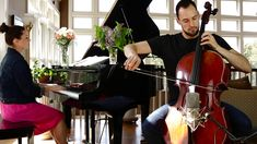 Saint-Saëns: The Swan (Cello and Piano) - Brooklyn Duo  This is such a beautiful song... wedding music!