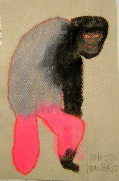 Miro Comachiko. Jeg vil ha en apekatt på veggen. Hvor er du, Miro?