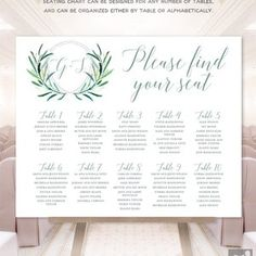 Wedding Timeline Sign / Wedding Itinerary Agenda Icons / | Etsy Wedding Reception Schedule, Text Signs, Forest Design, Wedding Timeline, Custom Fonts, Monogram Initials, Special Day, Color Change, Printable