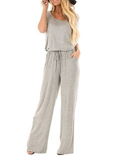 2019 Spring Overalls in Back,NEWONESUN Womens Casual Oversized Strap Check Plaid Pockets Jumpsuits Playsuits