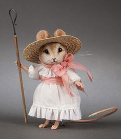 Little Bo-Peep. $425 limited to 150 Ordinarily I am not a mouse fan, but this one is too sweet to dislike!