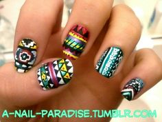 love all the different patterns and colors together!