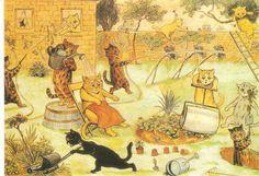 Cavacos das Caldas: Os Gatos de Louis Wain