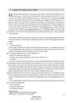 IGCSE Short Stories - Paper 1 Exam Practice Extracts & Questions