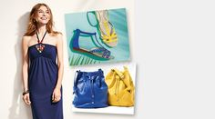 Avon Fashion Essential Pieces you need this Summer. Bold accessories, dresses and sandals. Order here: www.youravon.com/mhamilton39