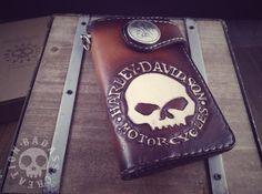 Biker's Short Wallet G Skull Harley-Davidson