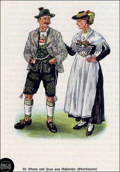 Mann und Frau aus Schliersee, Oberbayern | Flickr - Photo Sharing!
