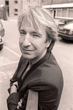 1991 -- Alan Rickman - professional photo by Roy Jones.