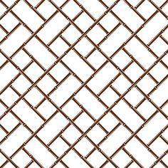 Jonathan Adler Wallpaper Bamboo Brown #zincdoor #wallpaper #jonathanadler