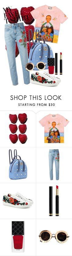"""""""Gucci-T"""" by annie-24 on Polyvore featuring Gucci and MyFaveTshirt"""