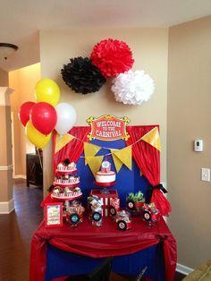 Circus Party #circus #party