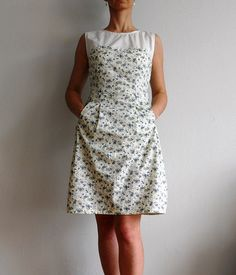 Another Colette pattern dress I've been itching to make. By flickr user Irene_Bullock. I love the fabric and the lightness of it--a perfect summer staple dress.