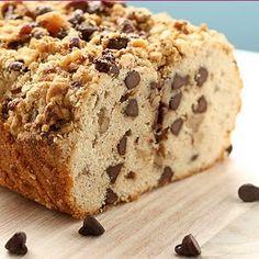 Chocolate Chip Strusel Bread