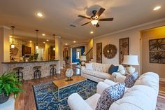 Find new homes in Reunion Ranch. Search floor plans, school districts, get driving directions and more for Reunion Ranch homes in Austin, TX. Beautiful Space, Beautiful Homes, Family Room, Home And Family, New Home Wishes, Hill Country Homes, Colourful Living Room, Austin Homes, Pretty Room