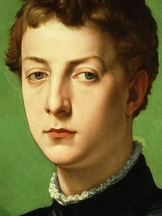 Lodovico Capponi (detail) / Agnolo Bronzino  / Oil on poplar panel, 1550-1555 / The Frick Collection